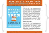 Make It All About Them by Nadine Keller